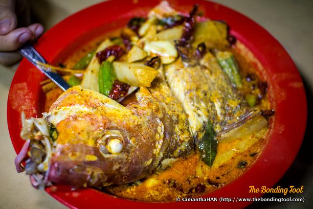 咖喱鱼头 - Curry Fish Head.