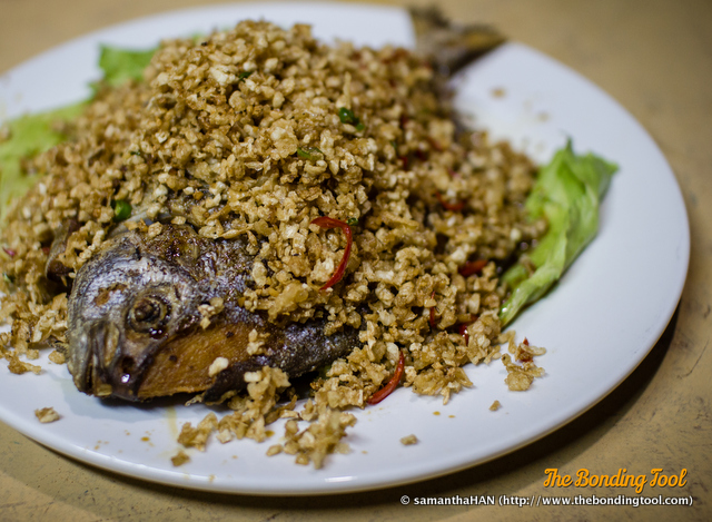 菜脯鲳鱼 - Chye Poh Promfet.
