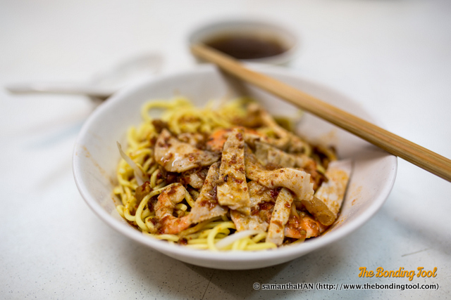 Prawn Noodle Menu Item #1 - S$4.50