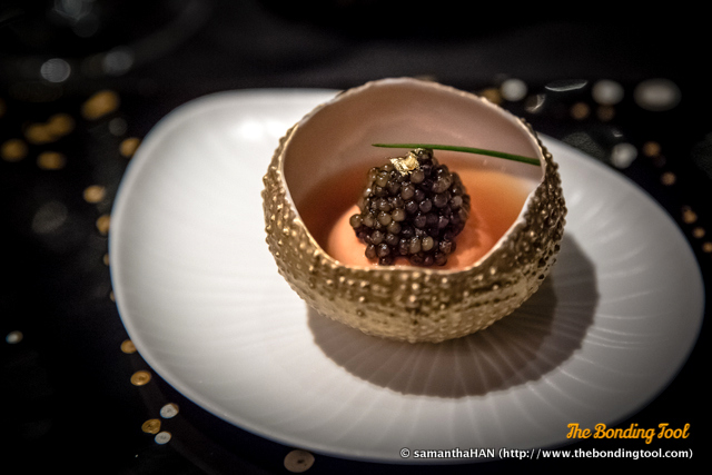"Le Caviar Impérial. Impérial caviar is ""Golden Osetra,"" also known as ""Royal Caviar"" and is obtained from albino (or white) sturgeon. It is among the rarest of caviars."