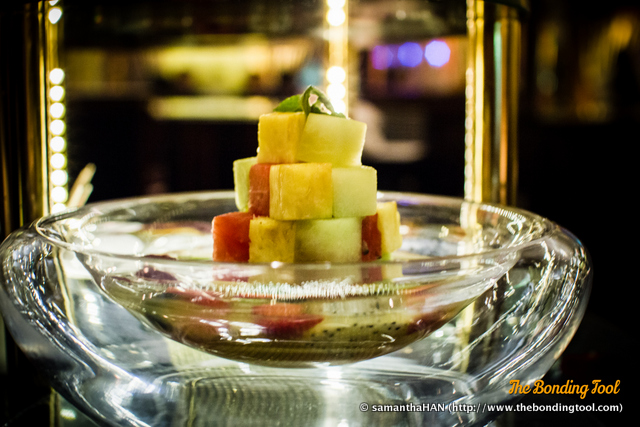 Fruit cocktail.