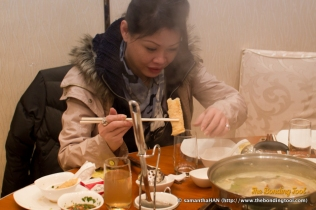 Eating steamboat in Macau on one of the coldest night there was warming but the best was being able to have reunion dinner with my friends.