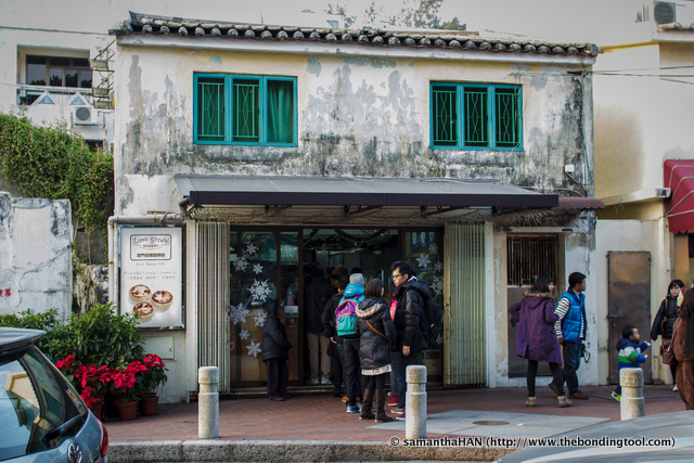 The original shop at 1 Rua Da Tassara, Coloane Town Square, Macau, established in 1989.