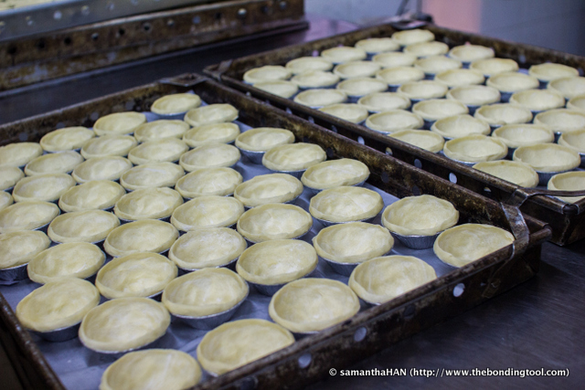 Andrew had no recipe but he experimented with some conventional methods and ingredients, adding an English touch to the tarts, and finally came up with his specialty which is now famous in Asia.