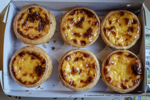 The custard was sweet and the pastry was flaky with crispy texture. These are best eaten on the spot or at least warm.