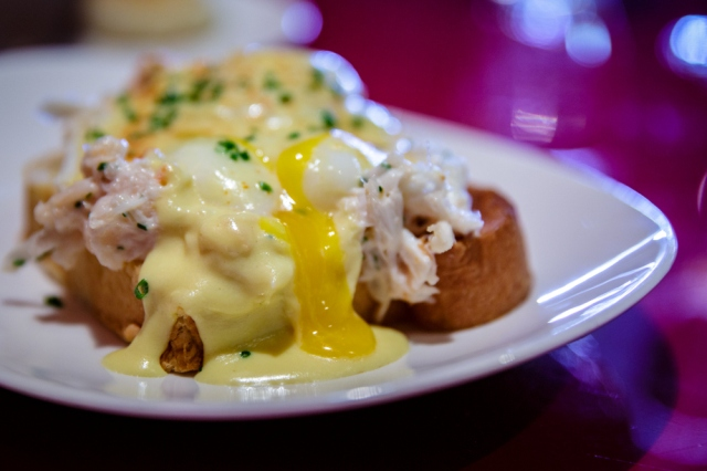 Lobster and Crab Benedict.