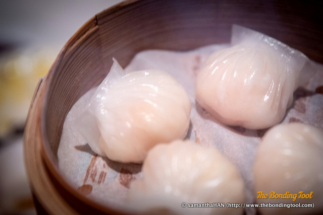 原只鲜虾饺. Steamed Shrimp Dumplings 'Har Gao'.