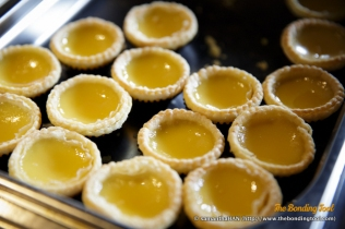 酥皮蛋挞子. Baked Mini Egg Tarts.