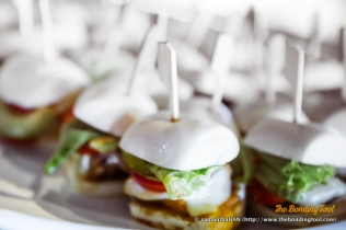 Pork Mini 'Mantou' Burgers.