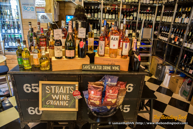 Straits Wine Organic sells organic, biodynamic wines, juices and artisanal spirits. Want to be environmentally friendly? Then save water, drink wine.