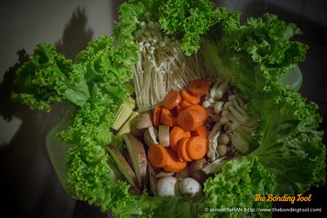 Vegetable hamper.