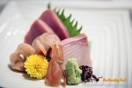 Assorted Sashimi for one.