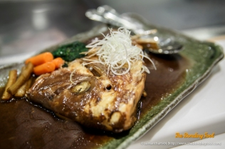 Grilled Tai Fish Head.