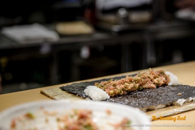 Minced Toro Sushi.