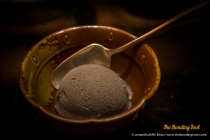 Japanese Black Sesame Ice Cream.