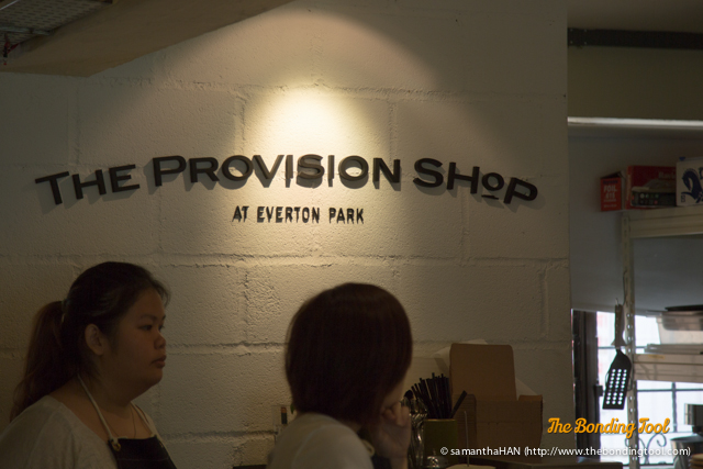 The Provision Shop at Everton Park.