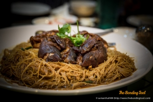 Stewed Vermicelli with Pig Trotter.