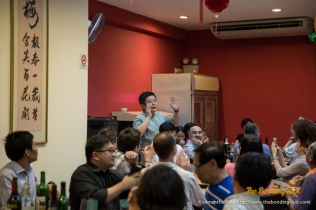 Andrew Wong, one of the organisers of the Makan Outing by Makansutra. Makan is eat in Malay language.