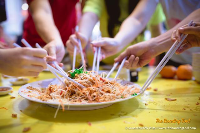 风生水起 Prosperity Salmon Yu Sheng.