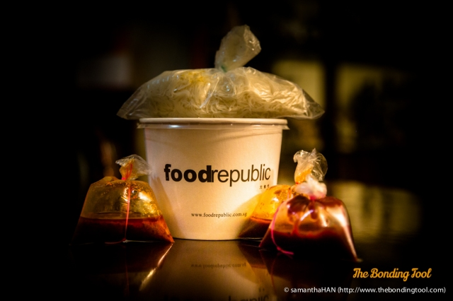 YTF Dinner to go from Food Opera, by Food Republic.<br />If you have Passion Card, there's a 10% discount.