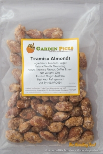 Tiramisu Almonds.