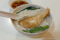 Fish Head (we requested for meat instead of fish head parts) Bee Hoon Soup.