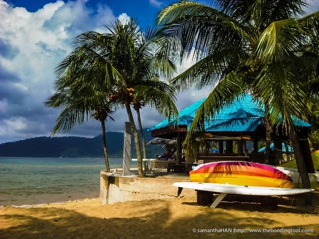 Pulau Tioman, Malaysia.