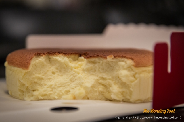 Japanese cheesecake is different from the American cheesecake in terms of taste and look.<br />The former is a very light sponge with hints of cheese.<br />The latter is dense, rich and creamy, usually with cookie crumb base.<br />I like both types of cheesecakes.