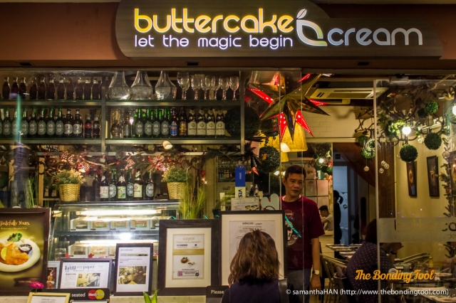 Buttercake n Cream, formerly known as Peaberry & Pretzel, which sold German food. The owners have since changed its concept to a dessert place. They also serve hot foods.
