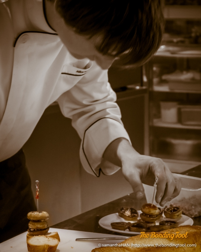 Chef Mikel may be only 22 years of age but he is holding fort (Basque cuisine) here at The Element.