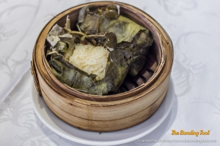 Lotus Leaf Glutinous Chicken Rice (糯米雞)