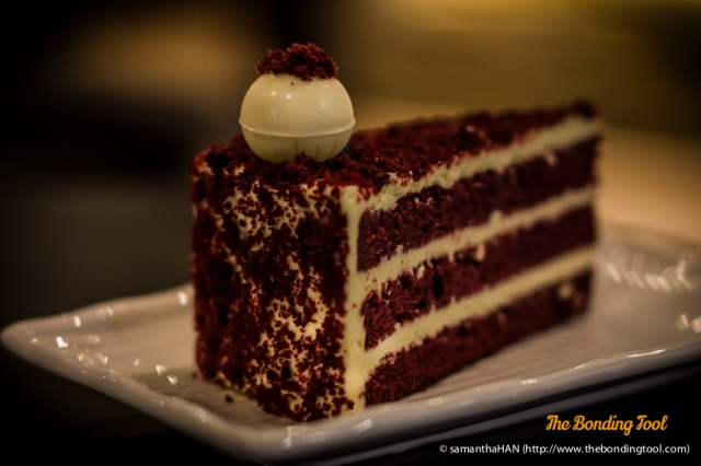 Red Velvet Cheese Slice.