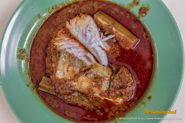 Assam Pedas is usually a Fish dish although seafood can be employed. Assam is tamarind and Pedas means spicy hot.