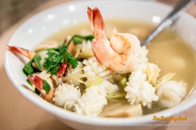 Tomyum Seafood Soup.