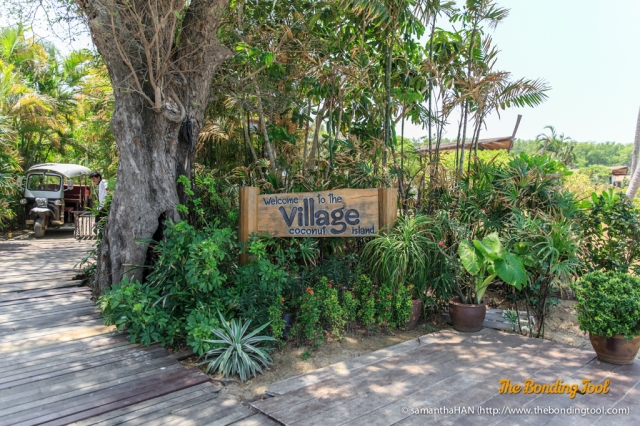 The Village is the only resort on this island and has been operating for the past 7 years.