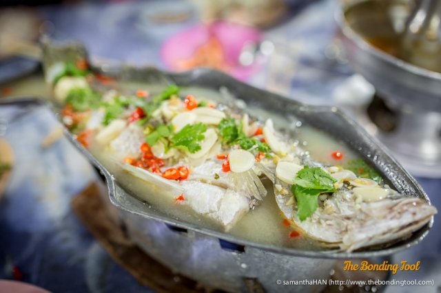 Steamed Fish with Lemon. Best dish in this meal.