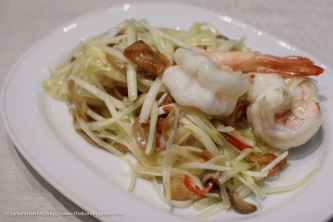 Stir-fried Prawns with Yellow Chives.