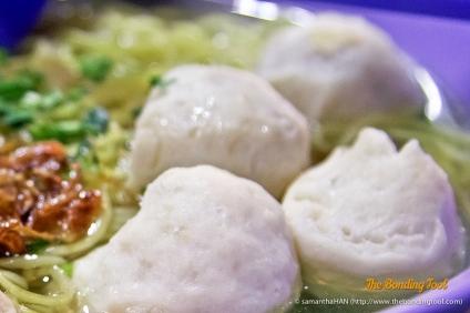 Khin Kee Fishball Noodle Soup.