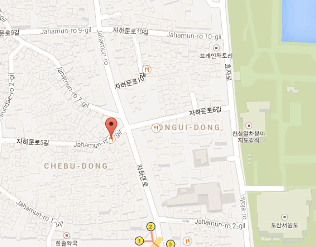 Click on picture to be redirected to Tosokchon Map.