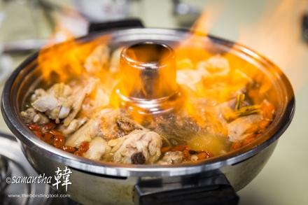 Yong's Steam Bot Garden (Batu Pahat) Rice Wine Chicken 白酒烧鸡