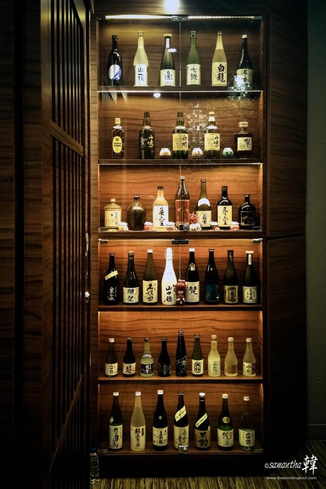 Available Sake in Manseki.