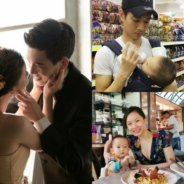 Two years ago on 8th May, Valerie & Ryan flew to Korea for their wedding photography. Now they are busy with their earlier than expected gift from the stork!