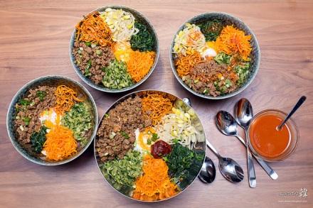 Bibimbap (비빔밥) .