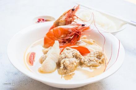 Woodlands Centre Yan Ji  Wei Wei Shi Pin Seafood Soup