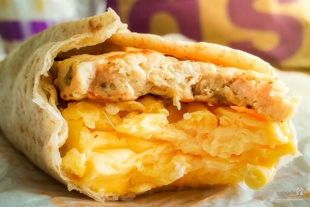 McDonald's Breakfast Sunrise Roll Sausage